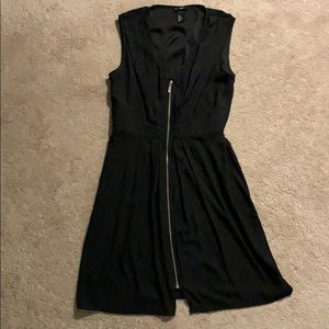 H&M flowy black dress